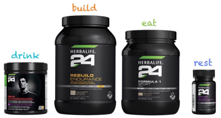 build endurance with Herbalife 24